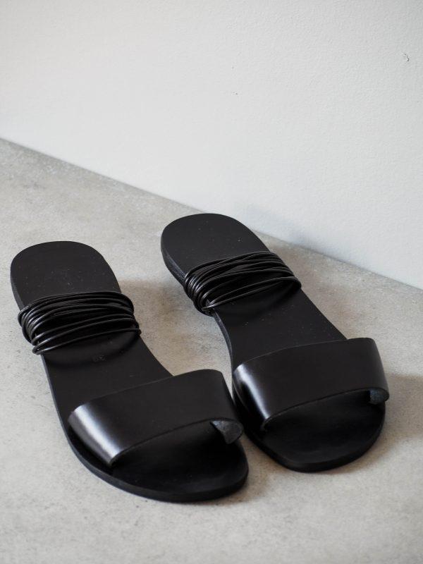Minimalism leather sandals