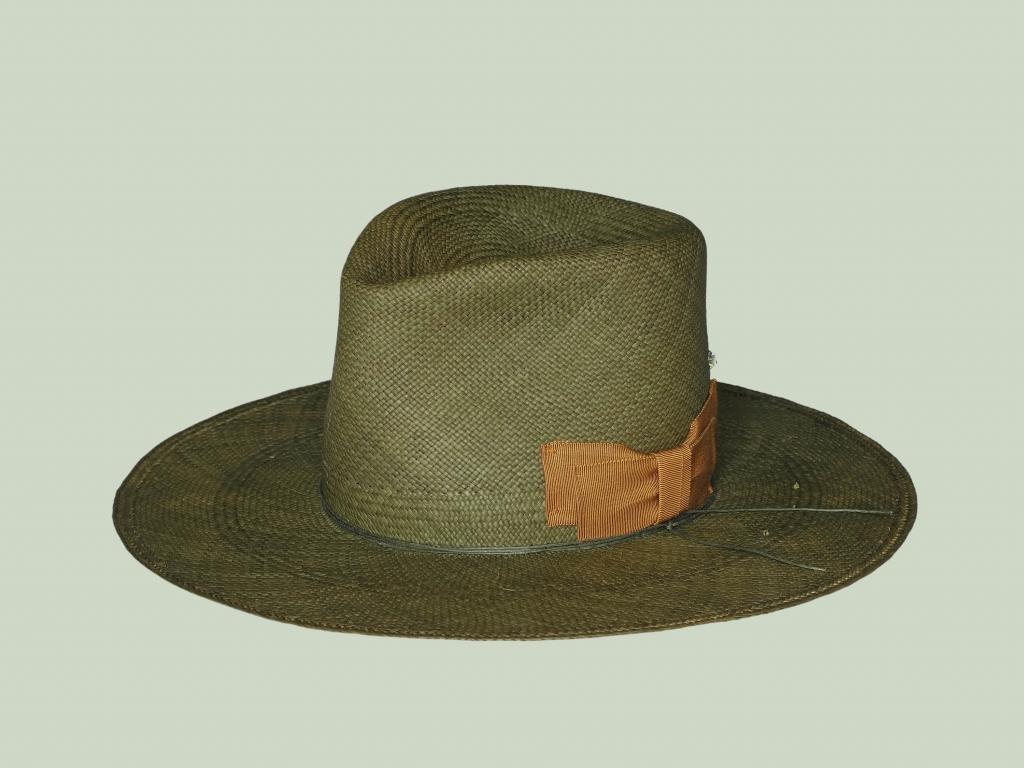 Straw Hat in Green