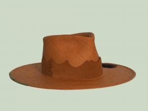 Straw Hat in Orange